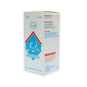Roghan Gul is useful in early stages of delirium associated with fever relieves a headache caused due to intense heat-Helpful in stomach and uterus inflammation