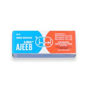 Ajeeb Ajmali for Stomach Pain, Acid Reflux, Gerd, Cholera, Diarrhea, Heartburn, Cuts Pain Headache, Insects Cuts.