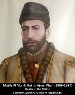 Masih Ul Mulkh Hakim Ajmal Khan