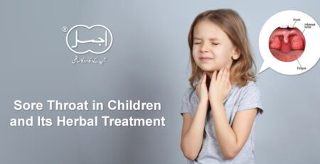 Sore Throat in Children and Its Herbal Treatment(baby sore throat)