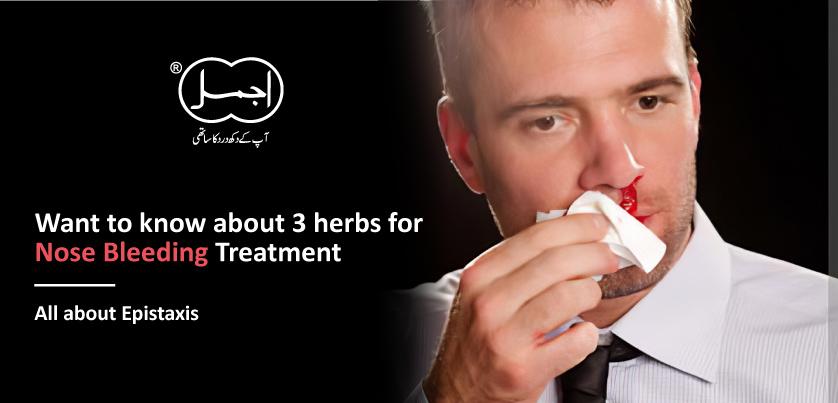 herbs for nose bleeding