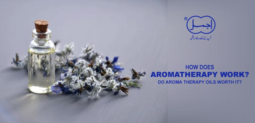 how does aromatheropy work